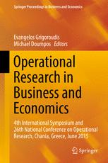 Operational Research in Business and Economics