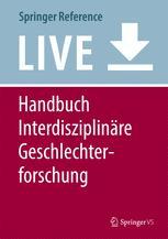 Handbuch Interdisziplinäre Geschlechterforschung