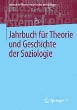 Jahrbuch für  Theorie und Geschichte der Soziologie