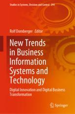 New Trends in Business Information Systems and Technology