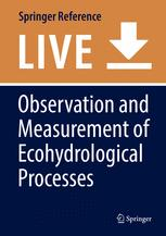 Observation and Measurement of Ecohydrological Processes