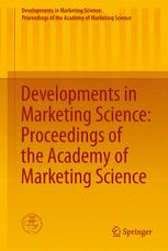 Developments in Marketing Science: Proceedings of the Academy of Marketing Science