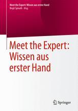 Meet the Expert: Wissen aus erster Hand
