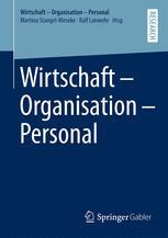Wirtschaft – Organisation – Personal