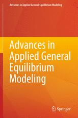 Advances in Applied General Equilibrium Modeling