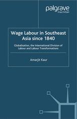A Modern Economic History of Southeast Asia