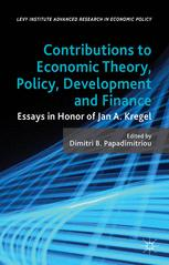 Levy Institute Advanced Research in Economic Policy
