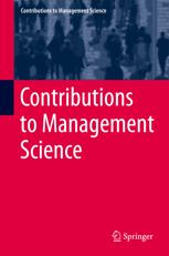 Contributions to Management Science