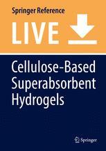 Cellulose-Based Superabsorbent Hydrogels
