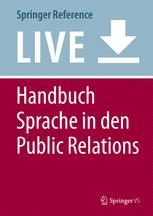 Handbuch Sprache in den Public Relations