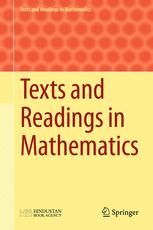 Texts and Readings in Mathematics