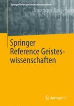 Springer Reference Geisteswissenschaften