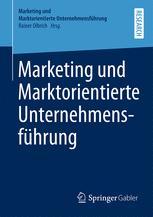 Marketing und Marktorientierte Unternehmensführung