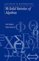 Advances in Mathematics