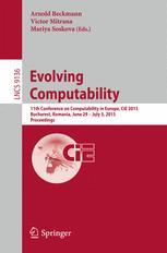 Evolving Computability