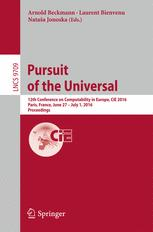 Pursuit of the Universal