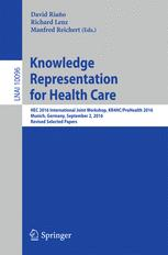 Knowledge Representation for Health Care