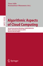 Algorithmic Aspects of Cloud Computing