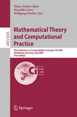 Mathematical Theory and Computational Practice