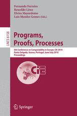 Programs, Proofs, Processes