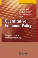 Advances in Computational Economics