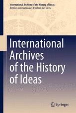 International Archives of the History of Ideas   Archives internationales d'histoire des idées