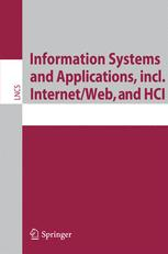 Information Systems and Applications, incl. Internet/Web, and HCI
