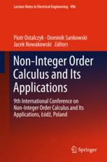 Non-Integer Order Calculus and its Applications