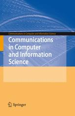Communications in Computer and Information Science