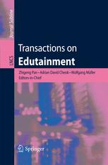 Transactions on Edutainment