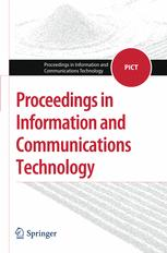 Proceedings in Information and Communications Technology