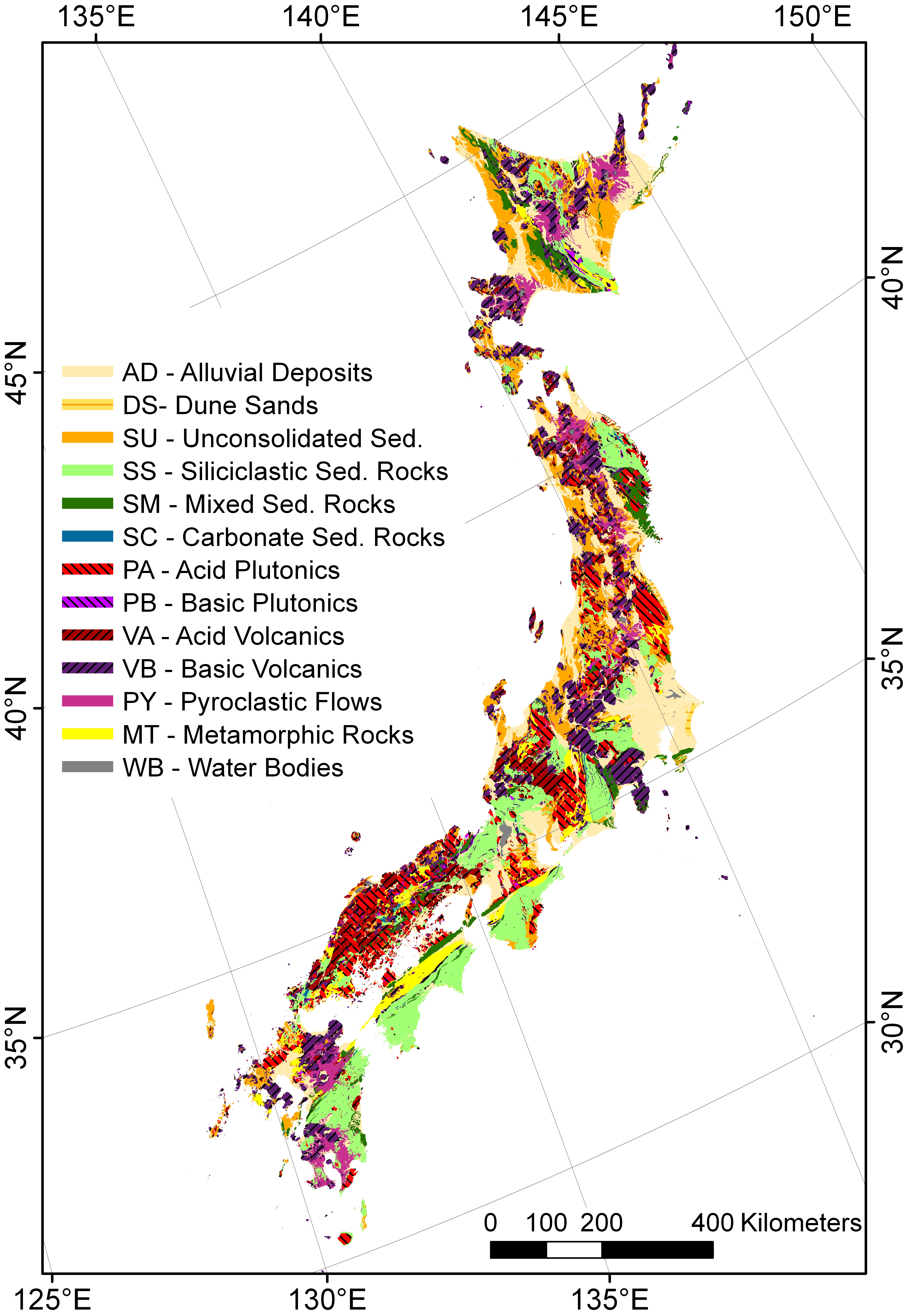 Predicting Riverine Dissolved Silica Fluxes To Coastal Zones From - Japan climate zone map