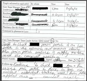 Medication incident reporting in residential aged care facilities ...