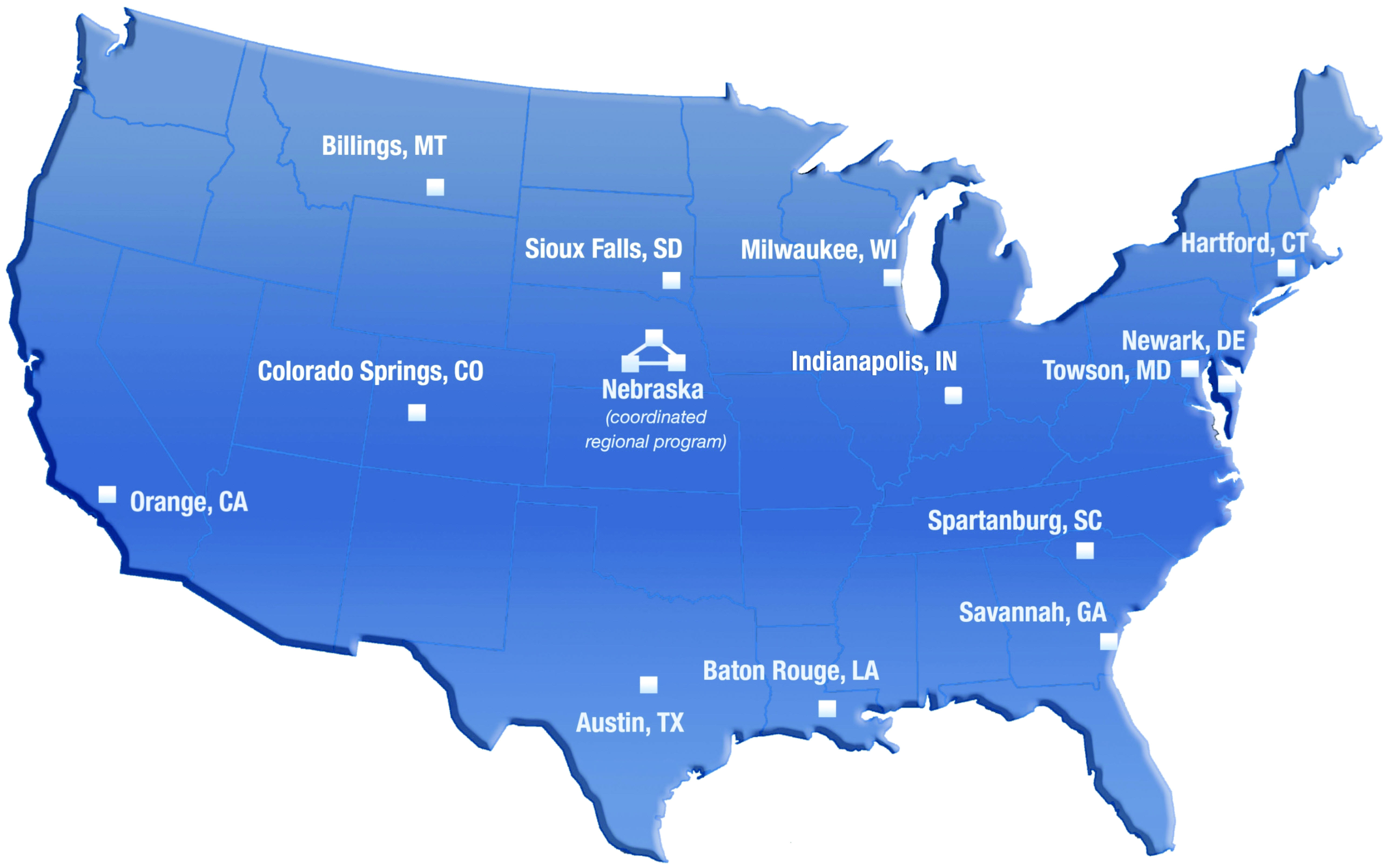 Improving Clinical Research And Cancer Care Delivery In Community - Us 23 michigan map